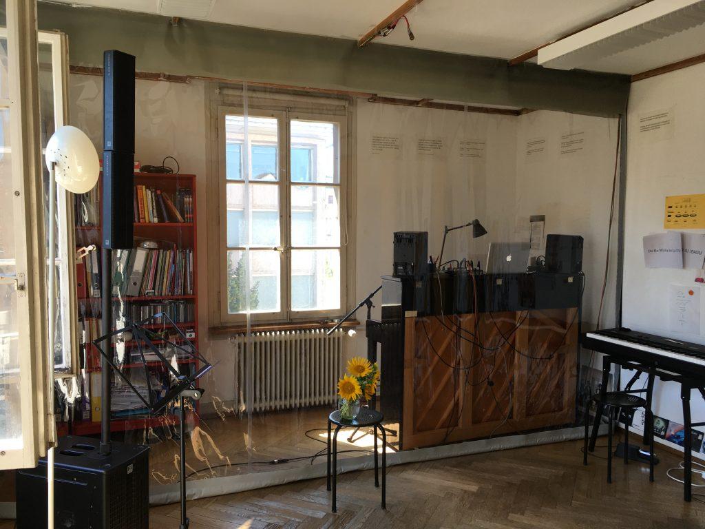 Atelier mit Corona- Schutz